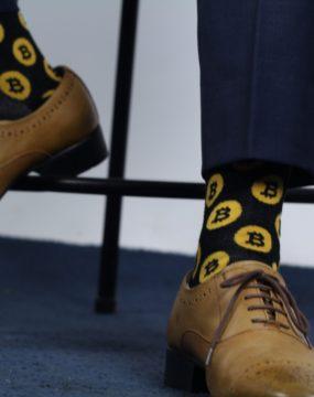 Kimchi Socks Bitcoin Socks