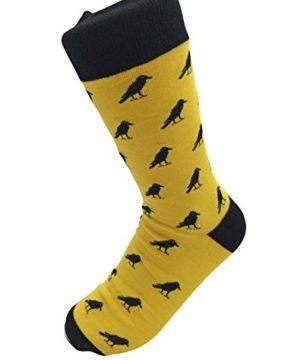 Yellow-Bird-Mens-Socks-0